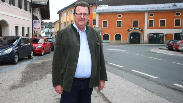 Der ehemalige Langzeitbürgermeister Fritz Kreil. (Bild: Roittner Felix)