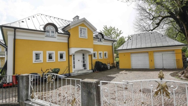 Krenns Villa in Salzburg-Aigen (Bild: MARKUS TSCHEPP)