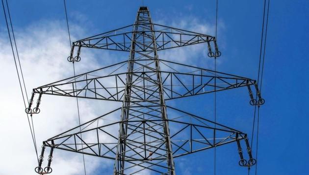 Eine 380 kV-Hochspannungsleitung (Bild: MARKUS TSCHEPP)