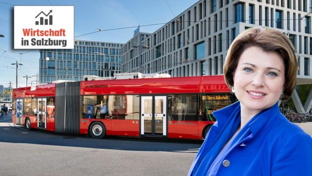 (Bild: Hess AG, Salzburg AG)
