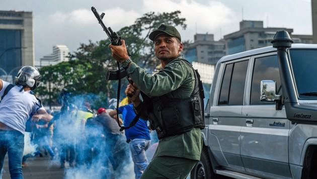 (Bild: APA/AFP/Federico PARRA)