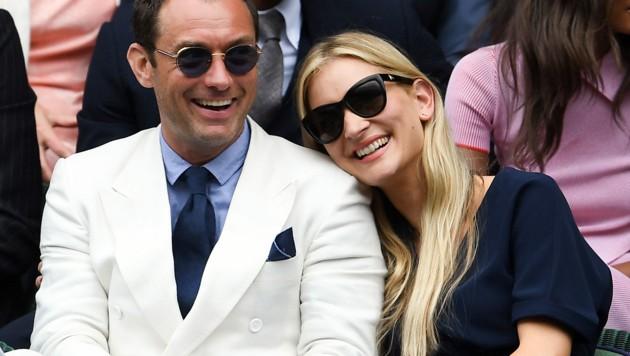 Jude Law und Phillipa Coan (Bild: www.PPS.at)