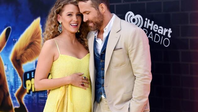 Stolz präsentierte Blake Lively in New York ihren Babybauch. (Bild: 2019 Invision)