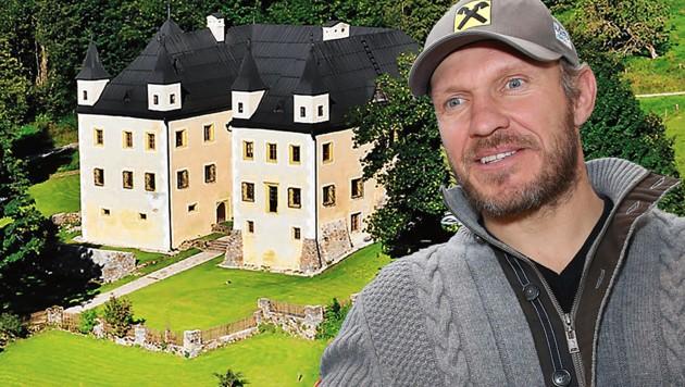 Schloss Höch war Schauplatz der Maier-Heirat (Bild: GEPA; Kulturverein Schloss Höch)