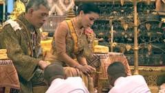 König Maha Vajiralongkorn und Königin Suthida (Bild: ASSOCIATED PRESS)