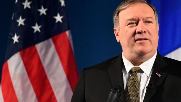 US-Außenminister Mike Pompeo (Bild: AP)