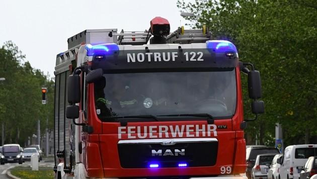 20 Männer der Feuerwehr Rauris waren in der Nacht auf Samstag im Einsatz. (Symbolbild) (Bild: P. Huber)