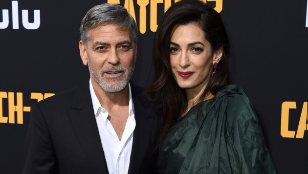 George Clooney und Amal Clooney (Bild: 2019 Invision)