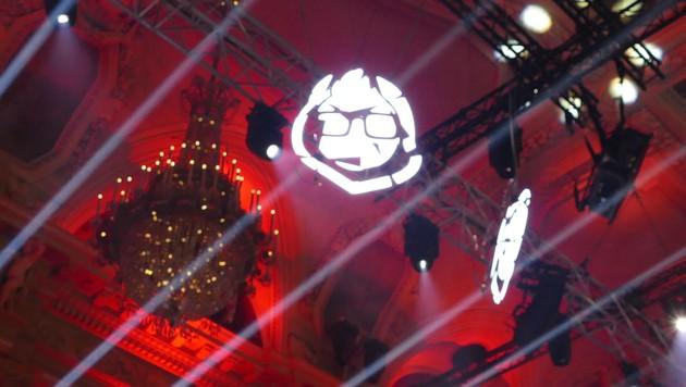 """Der """"Pionerd"""" ist das Maskottchen des Pioneers-Festivals. (Bild: Dominik Erlinger)"""