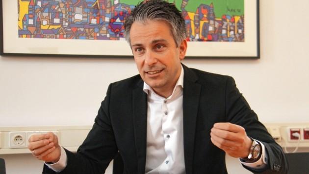 Grazer Sportstadtrat Kurt Hohensinner (ÖVP). (Bild: Jauschowetz Christian)