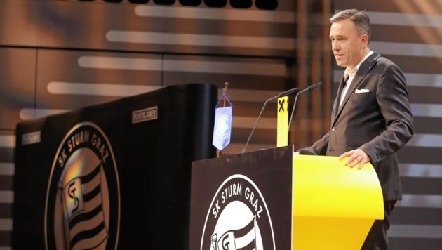 Sturm-Präsident Christian Jauk (Bild: Sepp Pail)