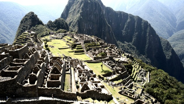 Die historische Inkastadt Machu Picchu (Bild: AFP )