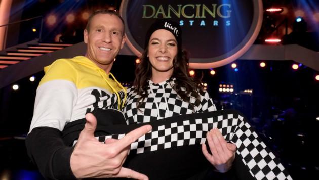 "Profi-Tänzerin Roswitha Wieland hatte den schwersten Job bei ""Dancing Stars"": Stefan Petzner. (Bild: Hans Leitner / First Look / picturedesk.com)"