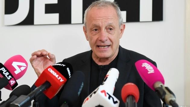 Peter Pilz (Bild: APA/Helmut Fohringer)
