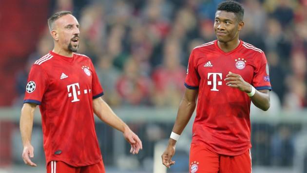 Alaba-Kumpel Ribery steht vor einem Wechsel nach Italien. (Bild: GEPA)