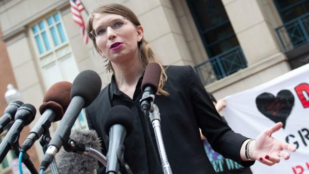 Trotz Gefängnis und Geststrafe will Chelsea Manning nicht aussagen. (Bild: AFP)