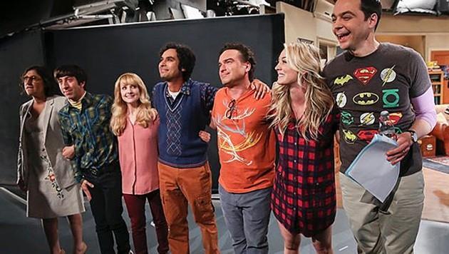 """Nach zwölf Jahren war für die Nerds von """"The Big Bang Theory"""" am Donnerstag Schluss. (Bild: instagram.com/bigbangtheory_cbs)"""
