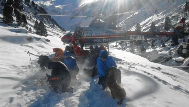 Der Vorfall hatte sich am 9. Jänner in Neukirchen am Großvenediger ereignet. (Bild: Bergrettung (Symbolbild))