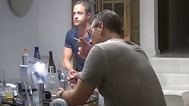 Strache und Gudenus im Ibiza-Video (Bild: Screenshot spiegel.de)
