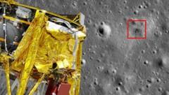 (Bild: NASA/GSFC/Arizona State University, AFP, krone.at-Grafik)