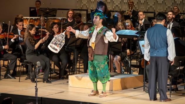 """""""Die Zauberflöte"""" als konzertante Aufführung an der Linzer Bruckneruni (Bild: groxpressimages.at)"""