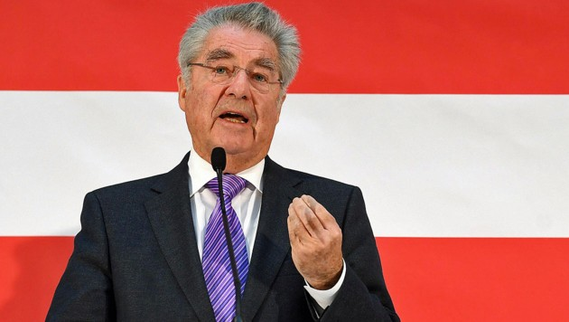 Alt-Bundespräsident Heinz Fischer (Bild: APA/HELMUT FOHRINGER)