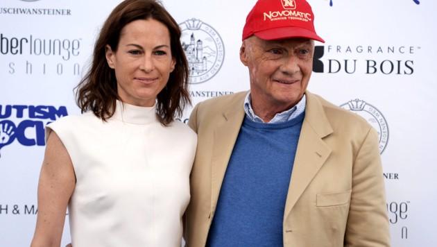 Niki Laudas Frau