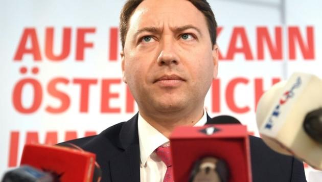 Manfred Haimbuchner (Bild: APA/HELMUT FOHRINGER)