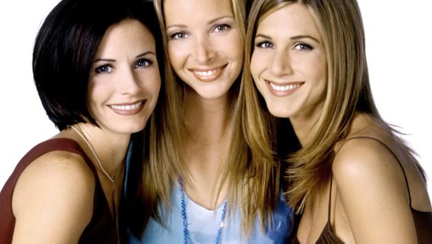 """Courteney Cox Arquette, Lisa Kudrow und Jennifer Aniston spielten gemeinsam in """"Friends"""" (Bild: Dave Bjerke / Everett Collection / picturedesk.com)"""