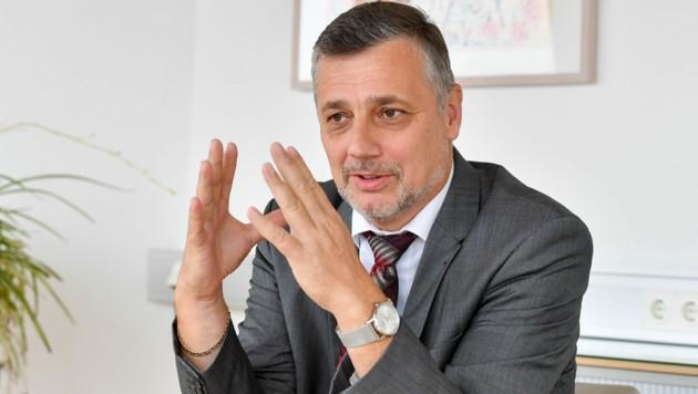 Alfred Klampfer, Bildungsdirektor von Oberösterreich (Bild: Harald Dostal)