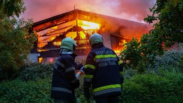 (Bild: Feuerwehr/Karner)