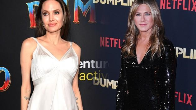 Angelina Jolie hatte nie Mitgefühl mit Jen Aniston