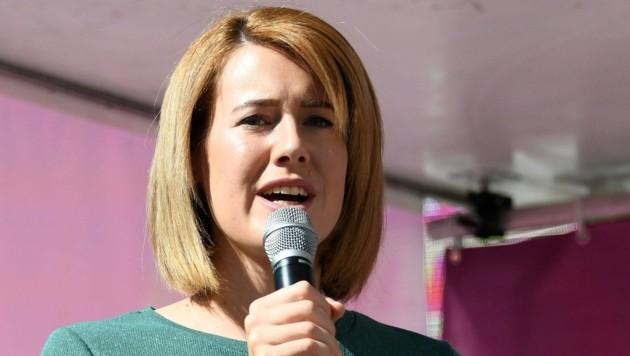 NEOS-Spitzenkandidatin Claudia Gamon (Bild: APA/LUKAS HUTER)