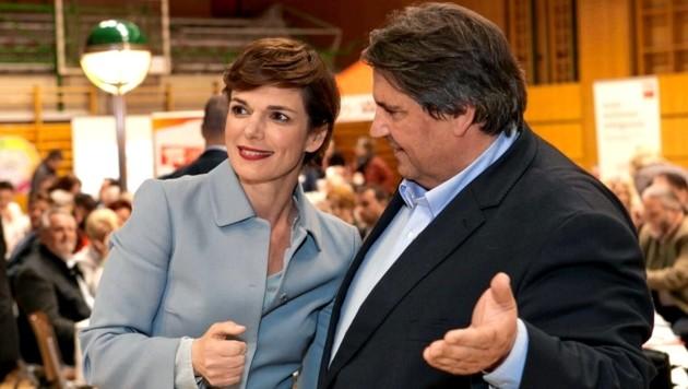 Pamela Rendi-Wagner und Josef Muchitsch (Bild: SPÖ)