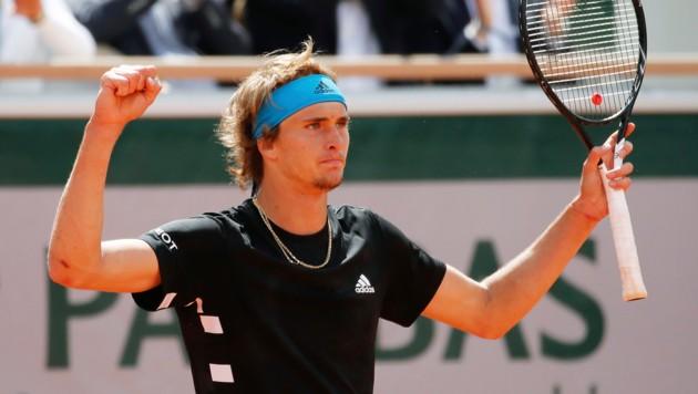 Alexander Zverev Zittert Sich In Die Zweite Runde Krone At
