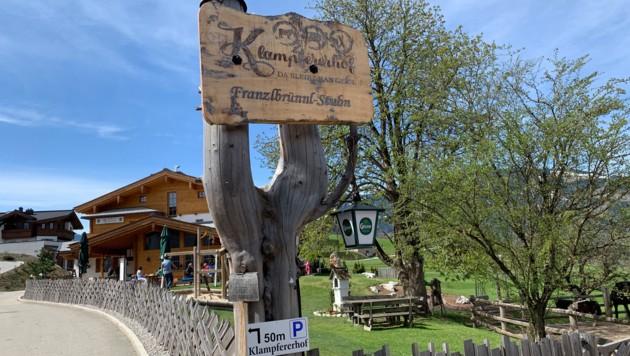 Pure Natur-Idylle am Ritzensee in Saalfelden: So locken die Brüder Geschier zum Klampfererhof. (Bild: Krone)