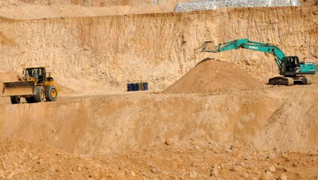 Abbau Seltener Erden in China (Bild: AP)