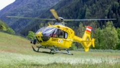 """Mit dem """"C7"""" wurde der Verletzte ins Krankenhaus geflogen. (Bild: Brunner Images)"""