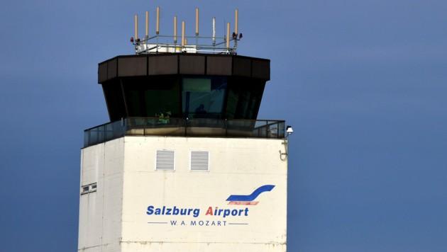 Flughafen Salzburg (Bild: APA/BARBARA GINDL)
