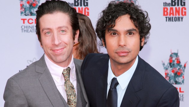 Simon Helberg (L) und Kunal Nayyar (Bild: 2019 Getty Images)