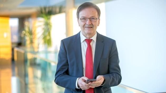 Ferdinand Wieser ist Geschäftsführer der BMD, einem Unternehmen, das im Bereich Software-Entwicklung für Steuerberatung die Nase vorne hat. (Bild: Gabor Bota)
