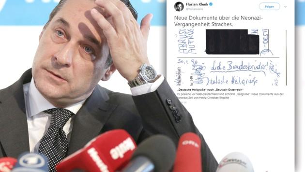 (Bild: APA/Georg Hochmuth, twitter.com/florianklenk, krone.at-Grafik)