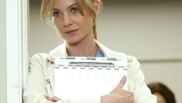 "Ellen Pompeo als Dr. Meredith Grey in ""Grey's Anatomy"" (Bild: Everett Collection / picturedesk.com)"