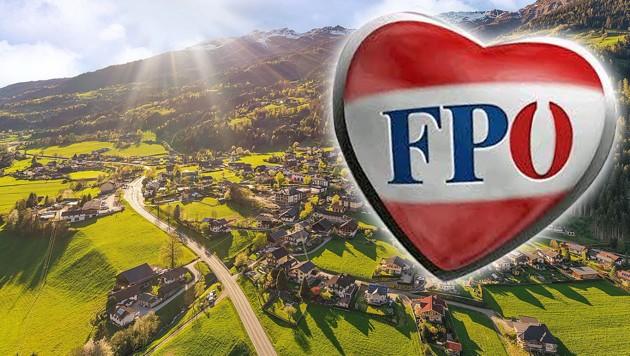 Die FPÖ-Ortsgruppe in der Kärntner Gemeinde Stall im Mölltal trat geschlossen aus der Partei aus. (Bild: Gemeinde Stall, facebook.com, krone.at-Grafik)