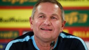 Slowenien-Teamchef Matjaz Kek (Bild: GEPA)