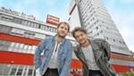 """Marco Wanda und Manuel Poppe auf """"Krone""""-Besuch (Bild: Reinhard Holl)"""