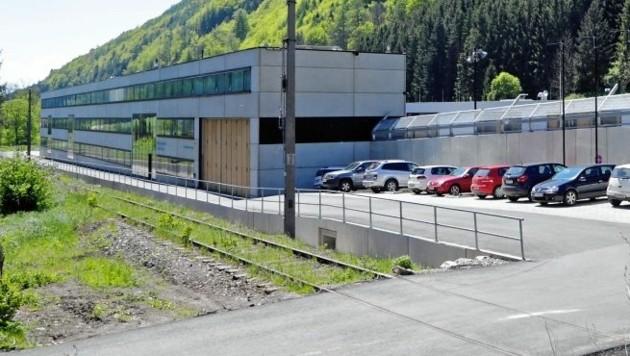 Das Anhaltezentrum Vordernberg (Bild: Klemens Groh)