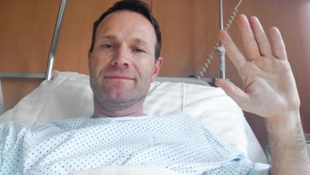 Showmaster Alexander Rüdiger: Grüße aus dem Krankenhaus (Bild: Alexander Rüdiger)