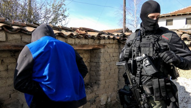 Bulgarische Polizei (Symbolfoto) (Bild: AFP)
