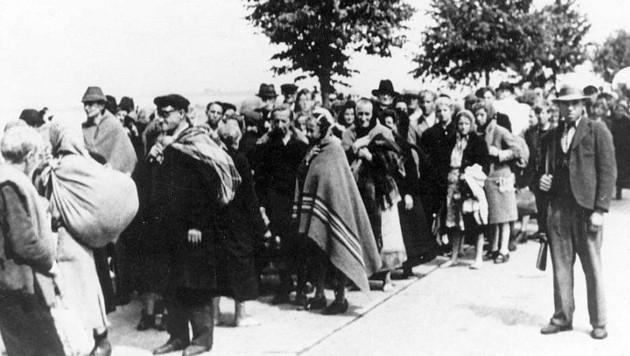 Brünner Todesmarsch 1945 (Bild: Post Bellum)